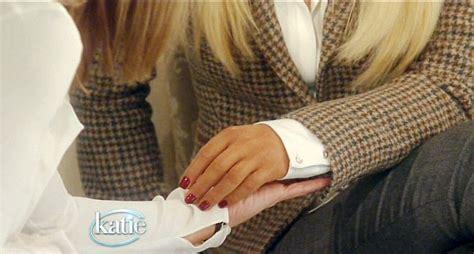 katie couric hand model katie couric tells lauren scruggs her prosthetic arm is