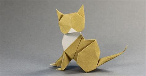 Cat Origami - origami cat cats origami cat origami and