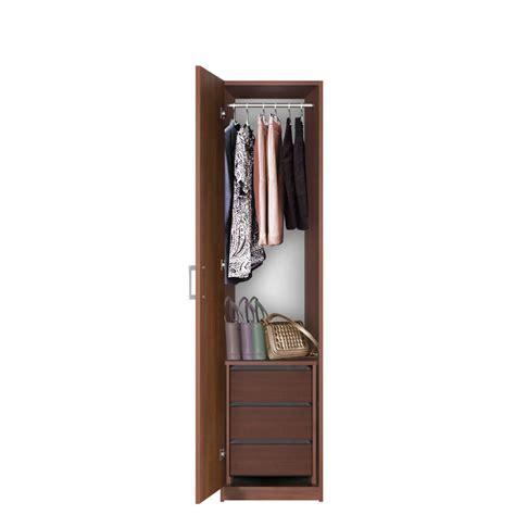Narrow Wardrobe Narrow Closet Left Opening Door 3 Interior