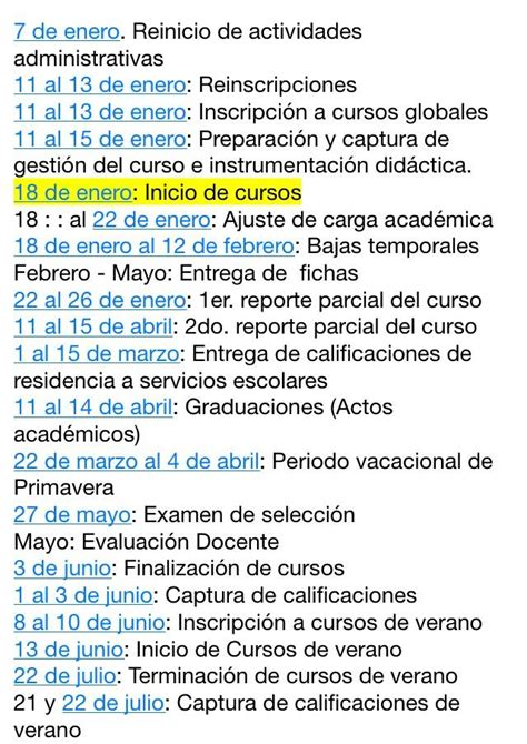 Calendario Tec Instituto Tecnol 243 Gico De Tijuana Calendario Acad 233 Mico