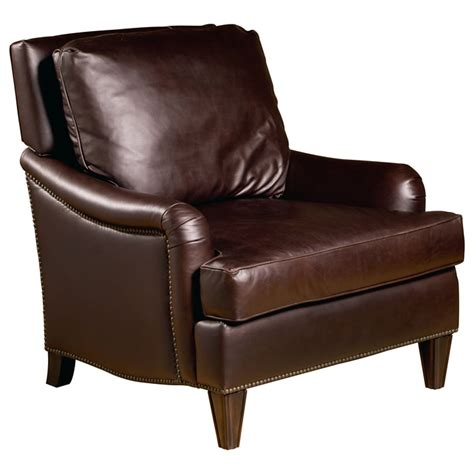 Dining Room Sets With Matching Bar Stools by Henri Club Chair Nail Heads Dark Brown Leather Dcg Stores