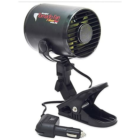 12 volt clip on fan buy roadpro 12 volt tornado fan with mounting clip from