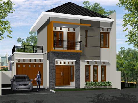 desain rumah betawi modern rumah minimalis 2 lantai desain cat rumah pinterest