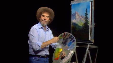 bob ross yellow painting thinking about climate change like bob ross vizzuality