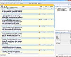 marketing skills checklist to do list organizer