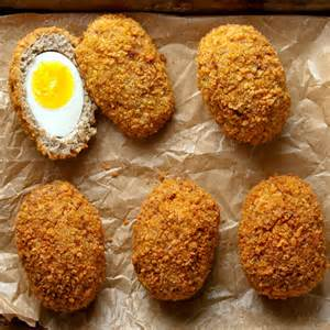 egg recipes scotch eggs recipe saveur
