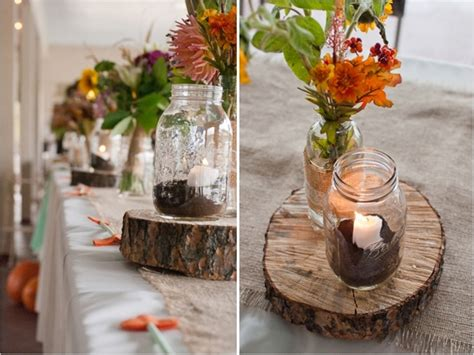 rustic wedding reception table decorations home design