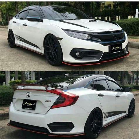 Wing Spoiler Modulo Honda Freed09 16 type f rear spoiler wing 2016 honda civic forum 10th