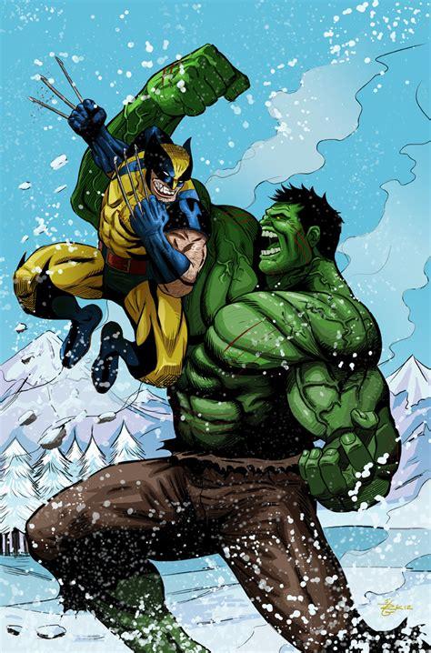 imagenes wolverine vs hulk wolverine versus hulk by irongiant775 on deviantart