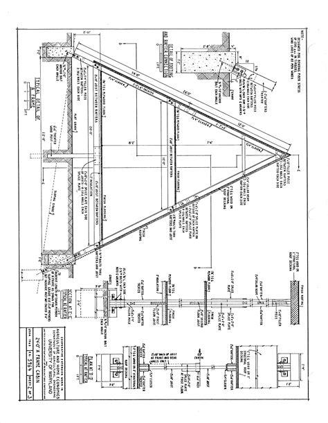 free a frame cabin plans blueprints construction documents