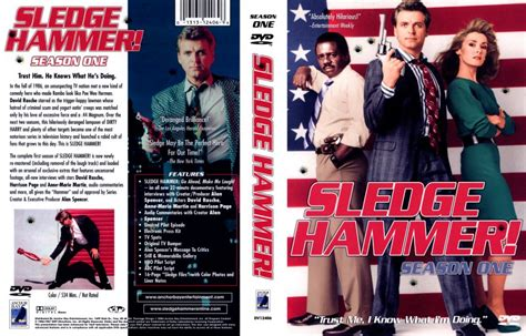 Cover Tv By Request 1 sledge hammer season 1 tv dvd custom covers 410sledge hammer season 1 dvd covers