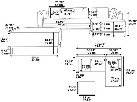 Width Of A Sofa by Standard Dimensions Home Design