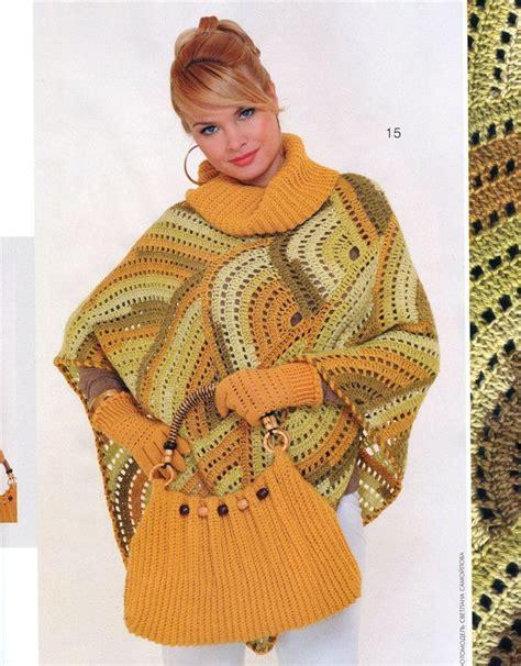 7 Beautiful Ponchos by Beautiful Ideas Crochet Beautiful Poncho Free Crochet