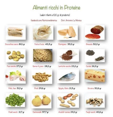 quali alimenti contengono proteine proteine alimentari