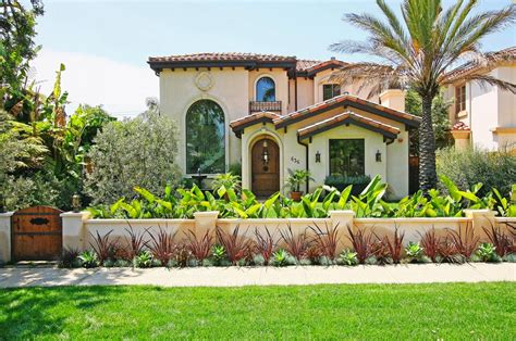 Good looking phormium technique los angeles mediterranean exterior image ideas with arch doorway