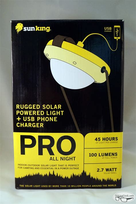 portable solar chargers for cing gear review sun king pro an portable solar lantern usb