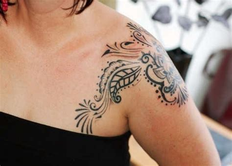 tribal shoulder tattoos for women tribal shoulder designs for