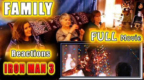 iron man family reactions full silent youtube