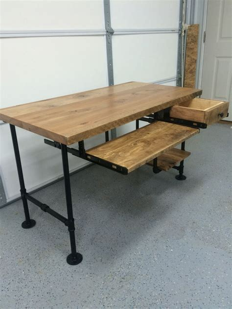 how to a pipe desk best 25 pipe desk ideas on industrial pipe