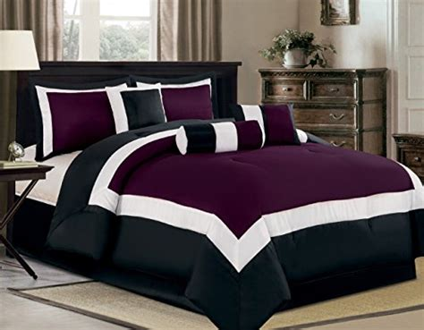 Camel Gray Purple 253 modern 7 bedding green grey white pin tuck