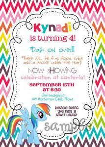 my little pony chevron rainbow dash printable birthday