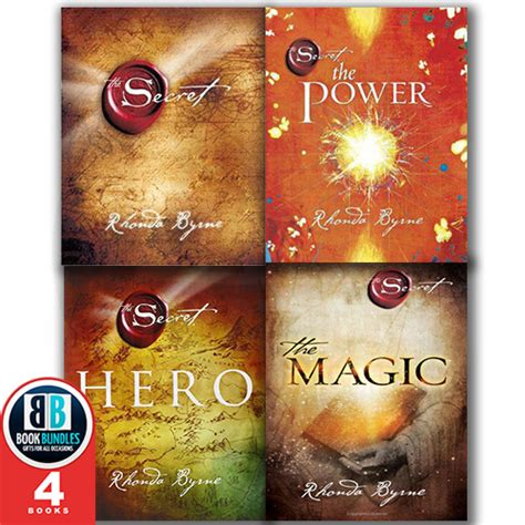 the secret book rhonda the secret series collection the secret the magic the power 4 books set