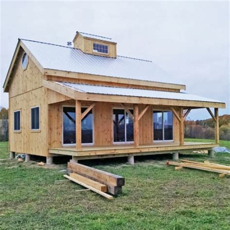 Cottage Kit by Kits For 20 X 30 Timber Frame Cabin Jamaica Cottage Shop