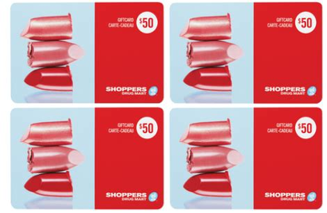 Shoppers Food Gift Cards - enter to win shoppers drug mart gift cards