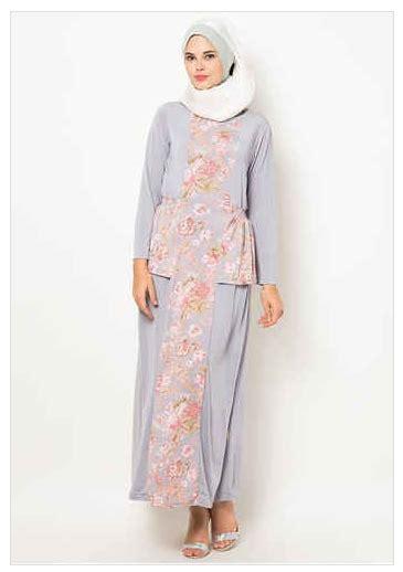 Baju Muslim 028 Motif 6 kumpulan baju muslim jersey motif untuk wanita
