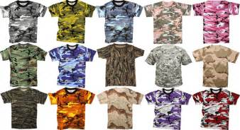 what colors go with camo camo shirts go commando with this awesome theme keep