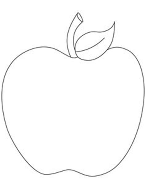 free apple templates printable apple template clipart best