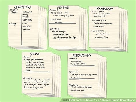 book report on the help how to take notes for a quot chapter book quot book report with