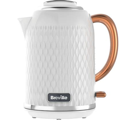 rose gold appliances buy breville curve vkt018 jug kettle white rose gold