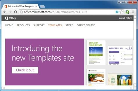 themes microsoft online how to use microsoft office online templates using a browser