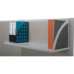 cubicle shelves hanging basyx verse 30 quot hanging shelf staples 174