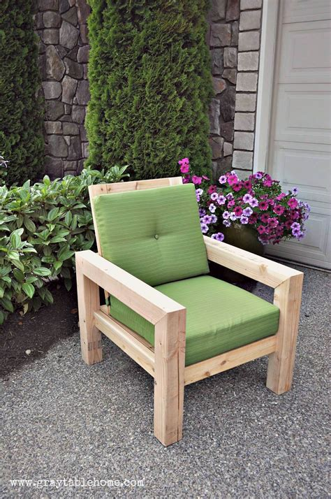 Diy Patio Chair 29 Best Diy Outdoor Furniture Projects Ideas And Designs For 2017