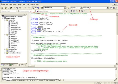 visual c tutorial microsoft module 1 using visual c 6 0 net and windows mfc