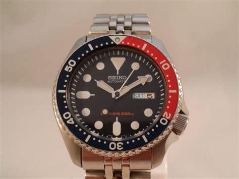 Seiko Divers 7s26 seiko scuba diver s 200m pepsi 7s26 0020 wristwatch