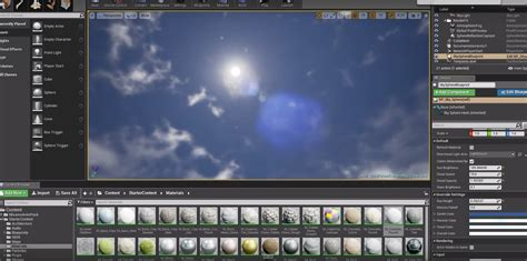 tutorial c ue4 sky and lighting unreal engine 4 cg tutorial