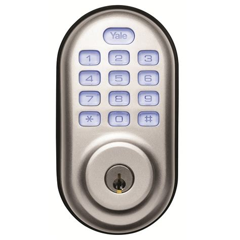 Yale Door Lock by Yale Digital Door Lock Yeddb Scyl Sil Keyless Deadlatch