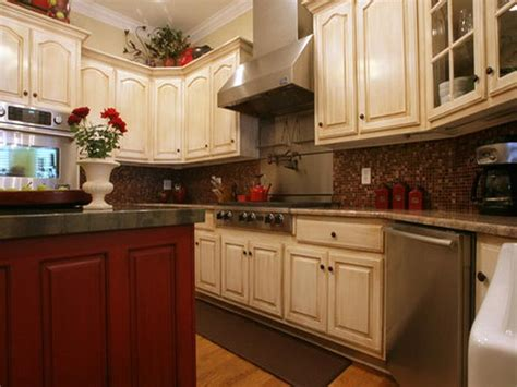 Kitchen Cabinet Color Schemes with Colored Kitchen Cabinets Pictures Quicua