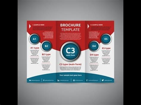Awesome Tri Fold Brochure Design by How To Create An Awesome Tri Fold Brochure Design Corel