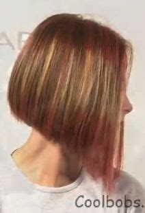 below chin length hair and hair putty tri color dimensional hair highlights blonde and light