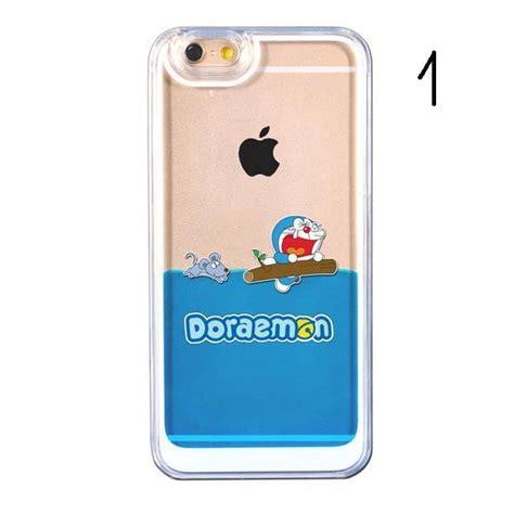Doraemon Iphone 6 Cover doraemon glitter water liquid for iphone