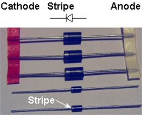 diode stripe anode cathode dc switching solid state relay