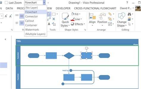 visio layer using layers for visibility printing and color in visio 2013