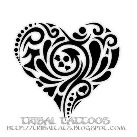 tattoo heart tribal our 10 unique designs of tribal tattoos