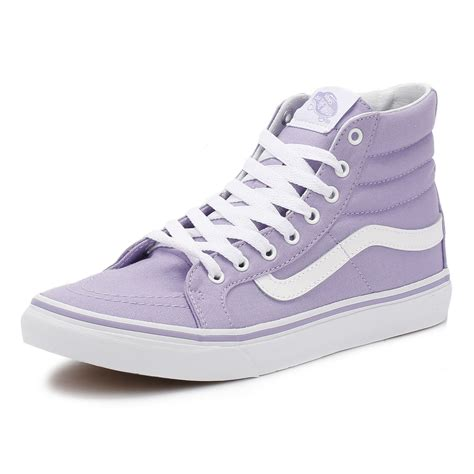 Vans Sk8 Best Seller vans womens sk8 hi slim trainers lace up high top sneakers casual shoes ebay