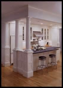 kitchen island columns kitchen island with columns for the home pinterest