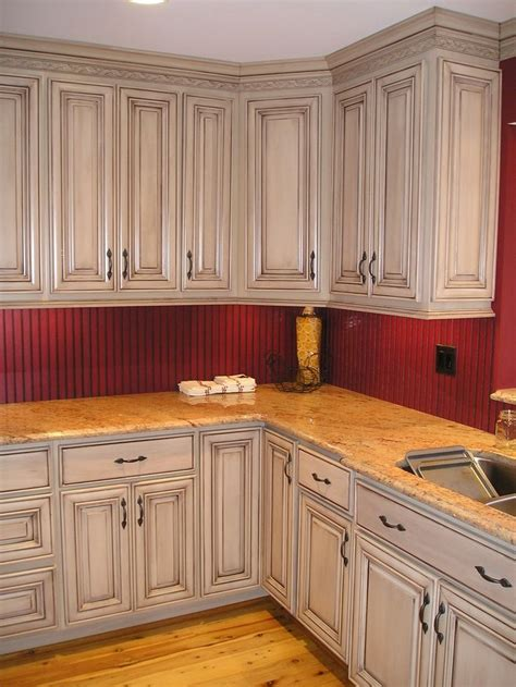 Glazed Kitchen Cabinets | glazed taupe kitchen cabinets magnificent taupe with